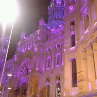 Foto tirada no(a) Palacio de Cibeles por Jesus A. em 12/20/2011