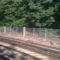 Photo taken at Metro North - Woodlawn Train Station by Benjamin W. on 8/12/2011
