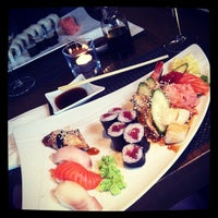 Photo taken at Silk Sushi Bar by Lucia on 7/12/2012