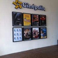 Photo taken at Cinépolis by Daniel E. on 5/9/2012