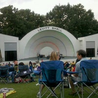 Photo taken at Levitt Shell by Molly P. on 6/9/2012