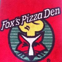 Photo taken at Fox's pizza den by Tyler C. on 8/12/2011