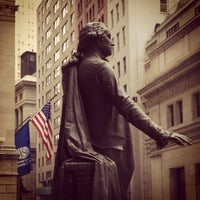 Photo taken at Federal Hall National Memorial by Jordan R. on 11/28/2011