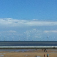 Photo taken at Skegness Beach by Daniel M. on 6/6/2012