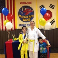 Photo taken at Martial Art World by Ivette P. on 5/10/2012