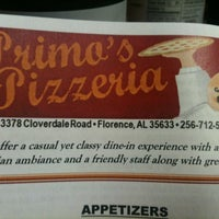 Photo taken at Primo's Pizzeria by Kevin J. on 10/12/2011