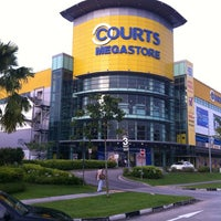 Photo Taken At Courts Megastore By Celes 思. On 6/3/2012 ...