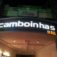 Photo taken at Camboinhas Mall by Renan T. on 11/27/2011