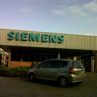 Photo taken at Siemens by Marco Tulio F. on 9/14/2011