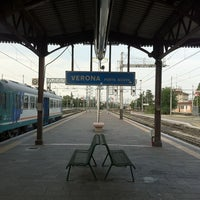 Photo taken at Verona Porta Nuova Railway Station by Joni H. on 6/24/2011