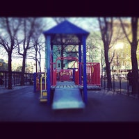 Photo taken at First & First Playground by Kashem M. on 4/6/2012