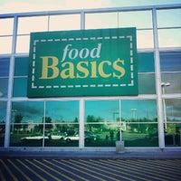 Photo taken at Food Basics by Irwan A. on 9/9/2012