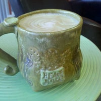 Photo taken at Bean Juice Coffee Roasters by Bob L. on 10/3/2011