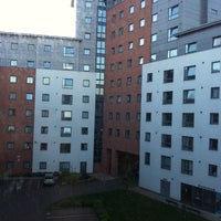 Photo taken at Filbert Village Halls of Residence, DMU by Vanessa Y. on 4/11/2011