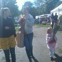 Photo taken at Brunswick Farmer's Market by Fritz C. on 9/16/2011