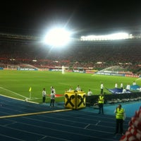 Photo taken at Ernst-Happel-Stadion by Michael L. on 9/6/2011