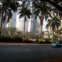 Photo taken at Jalan Jenderal Gatot Subroto by Richard K. on 8/12/2012