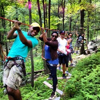 Photo taken at Skytop Lodge: Adventure Center by Louis S. on 9/1/2012