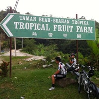 Photo taken at Tropical Fruit Farm by Christopher T. on 7/30/2011