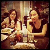 Photo taken at Cha-baa Cafe' by Kittiphong B. on 10/11/2011