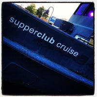 Photo taken at Supperclub Cruise by Georges on 8/28/2012