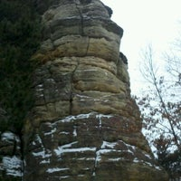 Photo taken at Castle Rock Wayside by Matt N. on 12/23/2011