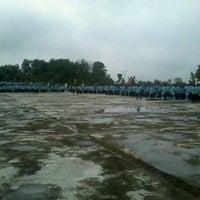 Photo taken at Lapangan Upacara Kantor Bupati by Tengku U. on 4/17/2012
