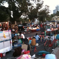 Photo taken at Bangsaen Walking Street by 1show on 2/4/2011