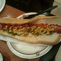 Photo taken at Barona Hot Dog Cart by Glen H. on 9/18/2011