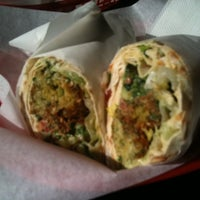 Photo taken at King of Falafel by Caitlin W. on 1/20/2011