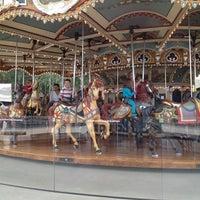 Photo taken at Jane's Carousel by Leah K. on 7/26/2012