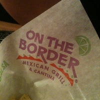 Foto scattata a On The Border Mexican Grill & Cantina da Britt N. il 2/9/2011