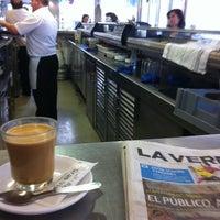 Foto tomada en Cafe Bar Gran Via por Juan Carlos N. el 3/4/2012