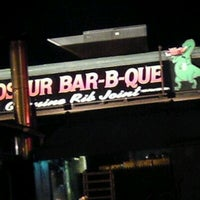 Photo taken at Dinosaur Bar-B-Que by rosemary s. on 10/10/2011
