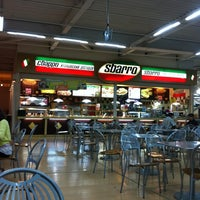 Photo taken at Sbarro by Andrew K. on 8/19/2012
