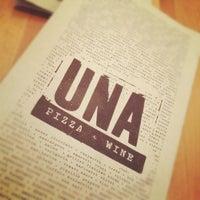 Photo taken at Una Pizza + Wine by hilda a. on 5/26/2012