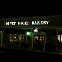 Photo taken at Olney Bagel Bakery by Alan M. on 3/9/2011
