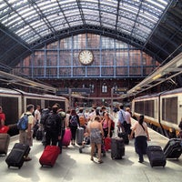 Photo taken at London St Pancras International Eurostar Terminal by Bryan H. on 8/19/2012