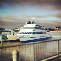 Photo taken at Baylink Ferry by Paris D. on 7/18/2012