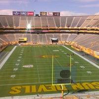 Photo taken at Sun Devil Stadium by Dan T. on 8/30/2012