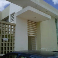 Photo taken at Unidad Universitaria de Rehabilitacion by Mario G. on 11/17/2011