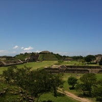 Photo taken at Monte Albán by Lizbeth T. on 7/25/2011