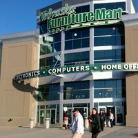 Photo taken at Nebraska Furniture Mart by Melissa K. on 12/10/2011