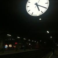 Photo taken at Gare de Renens by Jonathan K. on 7/28/2012