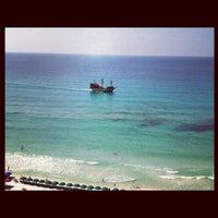 Photo taken at Destin Beach by Brittany M. on 7/24/2012