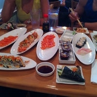 Photo taken at Asahi Sushi by Christopher O. on 7/16/2012