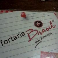 Foto tirada no(a) Tortaria Brasil por Julieli F. em 10/19/2011