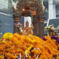 Photo taken at Erawan Shrine by Joey on 9/13/2012
