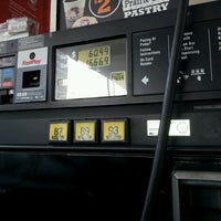 Photo taken at Texaco Station Dallas by Parker on 11/8/2011