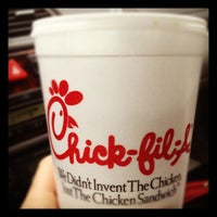Photo taken at Chick-fil-A Kingston Overlook by Julie M. on 2/27/2012